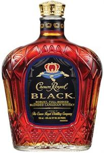 Crown Royal Canadian Whisky Black 1.00l